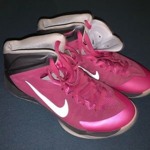 Girls Nike basketball sneakers